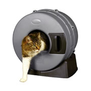 Chewy - Litter Spinner Cat Litter Box for Small Cats up to 10 lbs