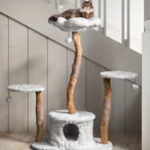 Chewy Mau Unique Cat Tree