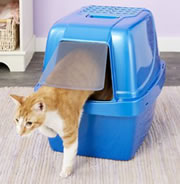 Chewy - Van Ness Enclosed Sifting Cat Litter Pan